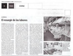 La Voz de Galicia (11/Sep/2009)