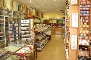 Vista de la tienda