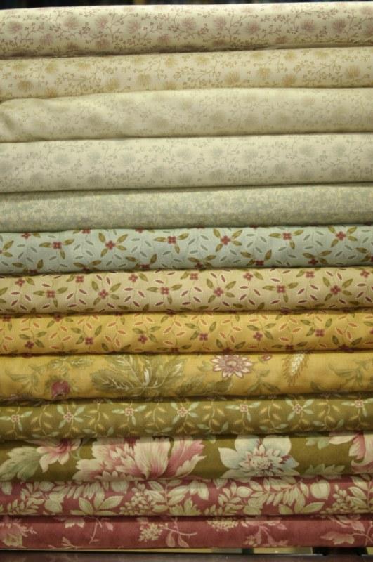 Moda fabrics la rueca patchwork su tienda de labores - Telas de la india online ...