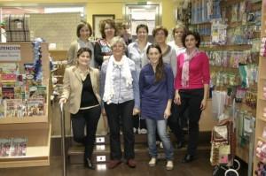 Grupo de alumnas con Pepa