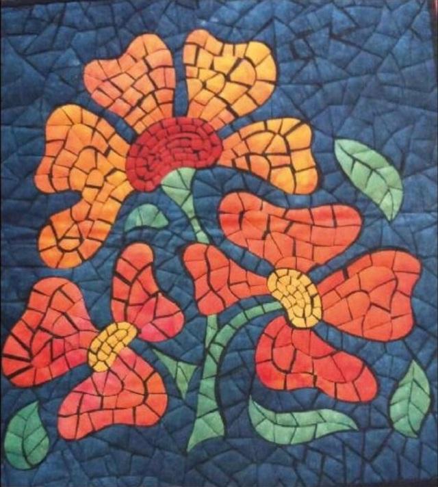 Mosaico sobre Tela